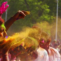 holi colorsplash colorful photography people