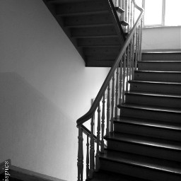 blackandwhite freetoedit photography staircase stairwell myhome pautzispics window steps banisters