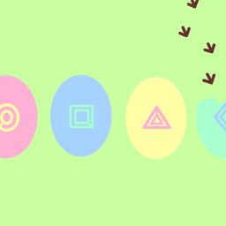 happyeaster decoratedeggs easter cute egg