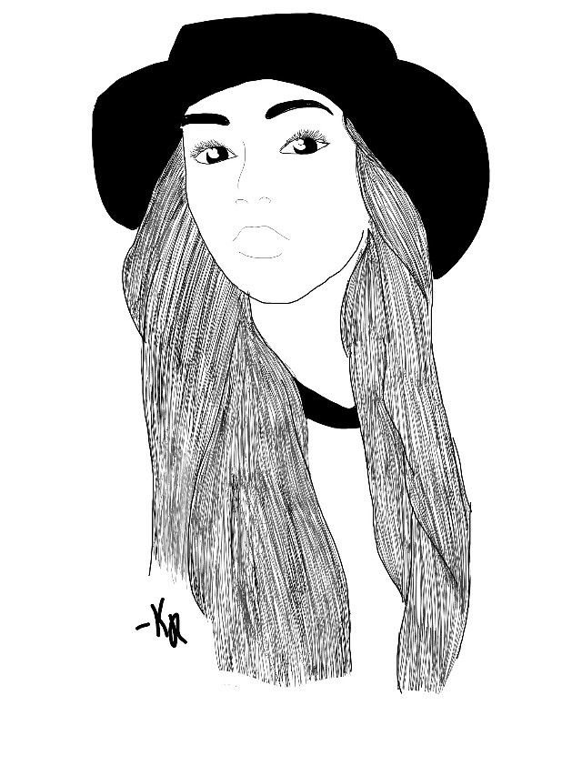 #outline #chica #tumblr