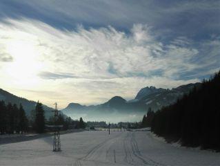 winter austria holiday mountains nature