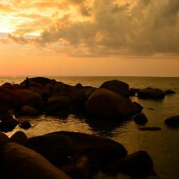 beach sunset photography travel
