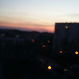 night sunset dark city nofilter