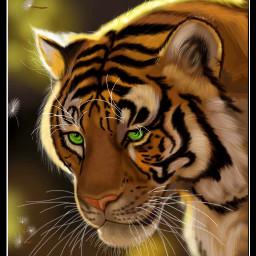 wdpzooanimals tiger drawing mydrawing art