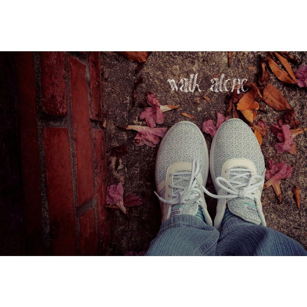 walk alone # walk