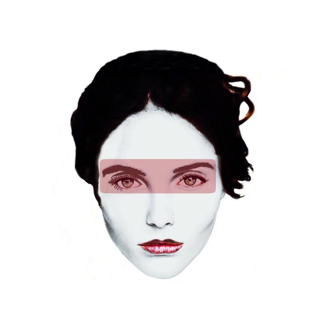 Colours: burgundy #collages #collageart #digitalart digitalart #portrait #colours #faces