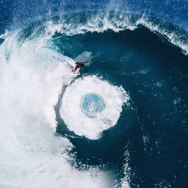 Whirlpool 🌀   (Original Photo: unsplash)   #water #surfing #summer #beach #surreal #surrealism #whirlpool #people #interesting   (Photography Account: @shaylinwallace )