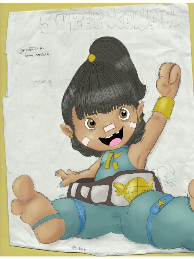 Sketch in between projects #baby #cute #pencilart #drawing #superhero #cartoon #girl #smile
