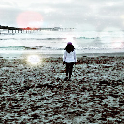 bokeh travel seasides pier2 selfie freetoedit