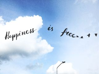 freetoedit happiness textoverlay sky freedom