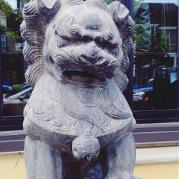 statues penn lionturtle freetoedit