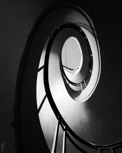 minimal blackandwhite stair minimalism