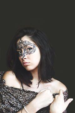 interesting art dramaeffect facepaint mask