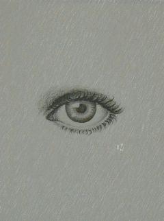 drawing pencil eye texture