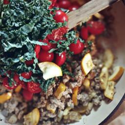 pastabake kale summerfood tomatoes lamadedis