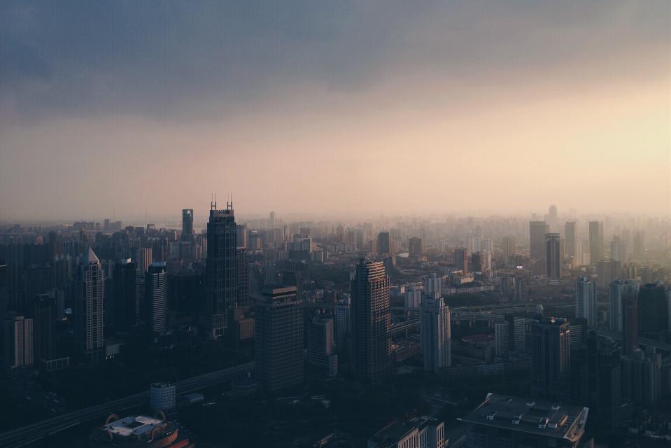 A glimpse of #shanghai. #landscapes   #FreeToEdit
