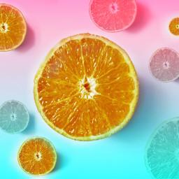 freetoedit oranges fruity summer yummy