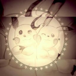 pokemon pikachu friends friendship draw